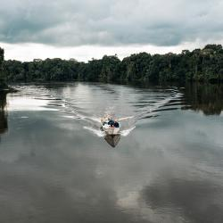 Der Amazonas ist der zweitlängste Fluss der Welt /DAHW