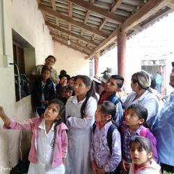 Die Kinder in Bolivien lernen about Chagas. / DAHW